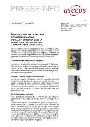 PRESSE-INFO - Asecos GmbH