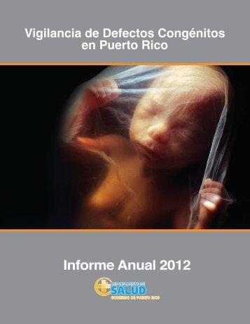 Informe Anual 2012.pdf - Departamento de Salud