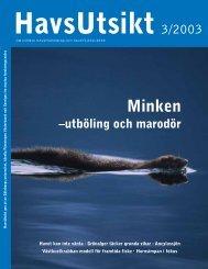HavsUtsikt nr 3,2003 - Havet.nu