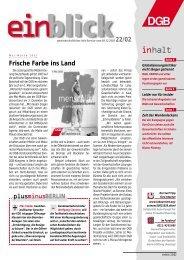 weiten - Einblick-archiv.dgb.de - DGB