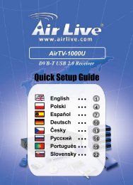 Quick Setup Guide - AirLive