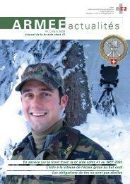 ARMEE Actualités 1/2005 (version br aide cdmt 41)