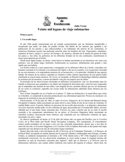 Veintemil Leguas De Viaje Submarino Pactemos Paz