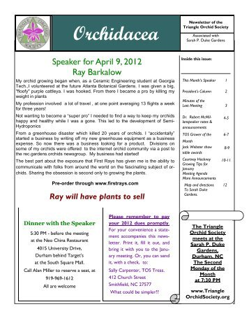 Newsletter April 2012_working Copy - Triangle Orchid Society