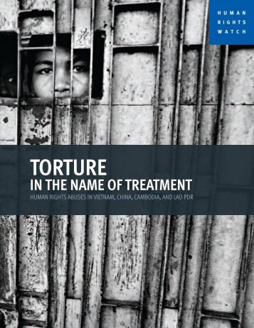 Torture in the Name of Treatment - Human Rights Watch