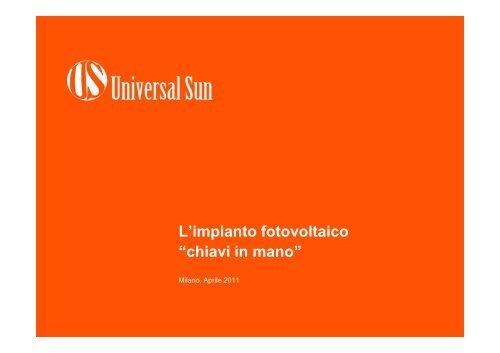 Presentazione Universal Sun aprile 2011rev1.pdf - Corrente - Gse