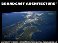 PPM - Broadcast Architecture