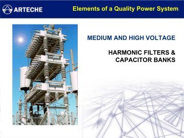 harmonic filters & capacitor banks - ECT Sales & Service