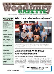 September 2, 2010 PDF Version - Woodbury Gazette
