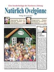 Eine Sonderbeilage der Nordwest-Zeitung