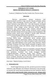 media informasi budaya surabaya - S1 Ilmu Komunikasi UNSOED