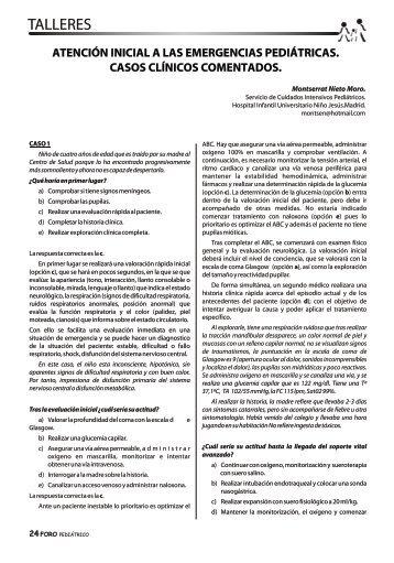 Atención inicial a las emergencias pediátricas - Sociedad de ...