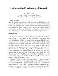 Fitch – Letter to the Presbytery of Newark.pdf - Centro White