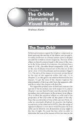 Orbital elements for a binary system (pdf) - UGAstro