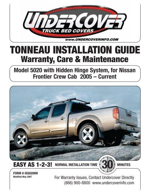 Tonneau Installation Guide Undercover