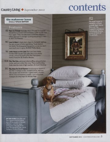 Country Living § September 2012