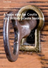 A huge step for Coutts and British private banking - solutionproviders