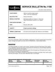 SERVICE BULLETIN No.1100 - ABC Companies