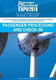 passenger processing and check-in - Passenger Terminal Expo