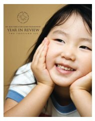 2006 Year in Review - Nu Skin Force for Good Foundation