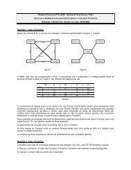 PRIMEIRA PROVA DE PTC-2549 - SISTEMAS TELEFÔNICOS ...