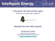 Christophe Coudon - 4E - Efficient Electrical End-Use Equipment