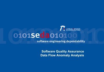 data flow anomaly