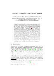 RAQNet: A Topology-Aware Overlay Network