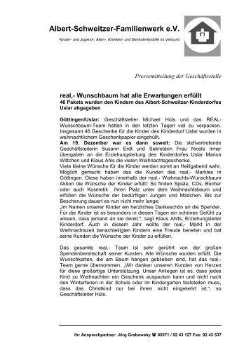 Albert-Schweitzer-Familienwerk e.V. - Albert-Schweitzer-Verband