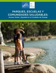 parques, escuelas y comunidades saludables - The City Project