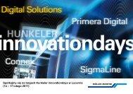Spotkajmy się na targach Hunkeler innovationdays w Lucernie (14 ...