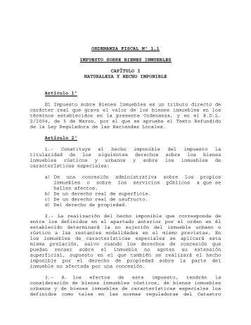impuesto sobre bienes inmuebles - Haro