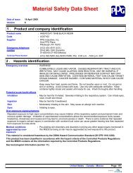 Amercoat 78HB Black Resin - MSDS - AltaPaints and Coatings
