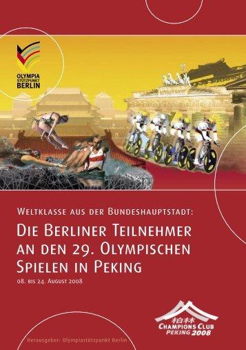 Newsletter 2-2008 - Olympiastützpunkt Berlin