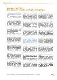 sommaire, Feuillet 1 - Cellule Économique du Bâtiment et des ...