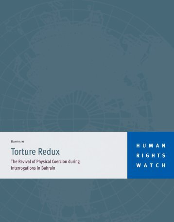 Torture Redux - Human Rights Watch
