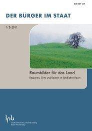 Download als PDF - Zeitschrift DER BÜRGER IM STAAT