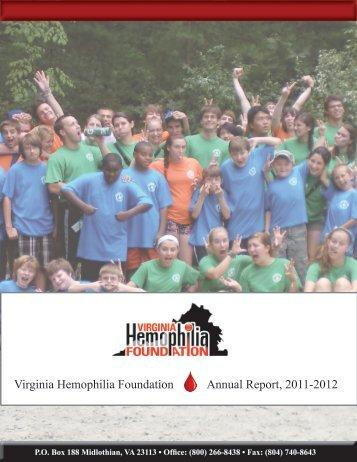 Annual Report 2011-2012 - VA Hemophilia