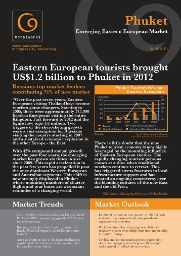 Phuket Emerging Eastern European Market April ... - C9 Hotelworks