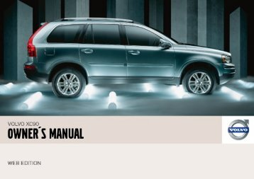 Volvo XC90 Owners Manual.pdf - ESD - Volvo