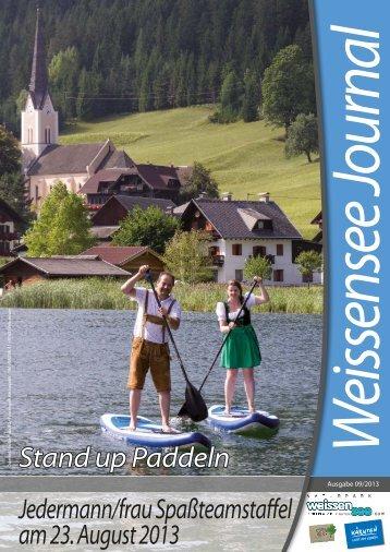 Journal 09/13 - Weissensee