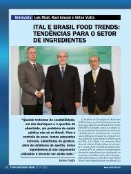 Luís Madi, Raul Amaral e Airnton Vialta. - Revista FiB