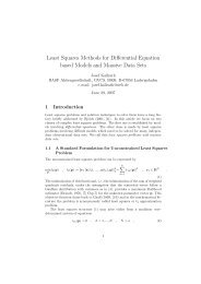 Complexity and Large Scale-Least Squares Problems - Astronomy