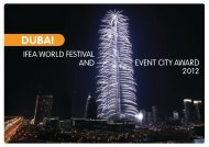 ifea world festival and event city award 2012 - International Festivals ...