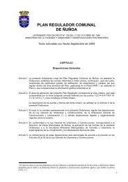 PLAN REGULADOR COMUNAL DE ÑUÑOA - Municipalidad de ...