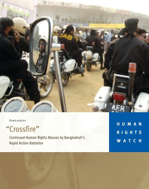 Crossfire Human Rights Watch