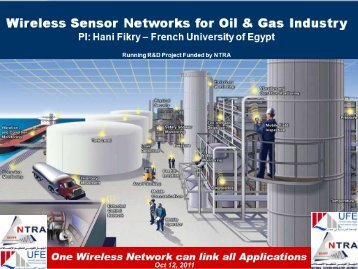 Wireless Sensor Networks in Oil and Gas Industry