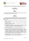 Regulamento sobre o Transporte de Gases Combustíveis por ... - saflii - Page 2