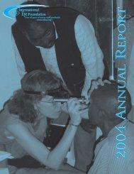 2004 A R 2004 A R - The International Eye Foundation