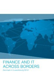 FINANCE AND IT ACROSS BORDERS - CFIR